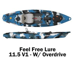 Feel Free Lure 11.5 V1 - W Overdrive