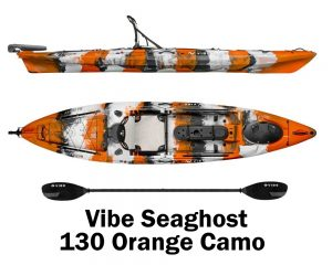 Vibe Seaghost 130 Orange Camo
